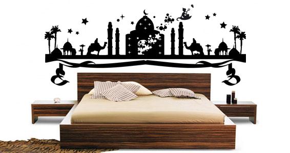 Stickers muraux 1001 nuits sticker d coration murale for Decoration mille et une nuit