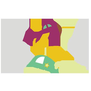sticker avion enfantin
