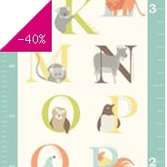 Sticker Growth chart - alphabet zoo wp