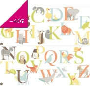 Sticker Wall art kit large - alphabet zoo wp
