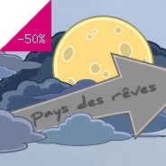 Sticker Direction pays des r�ves