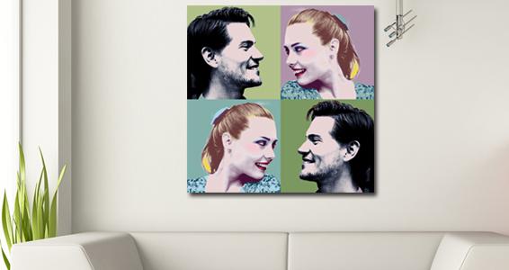 Pop art duo x2 pour 82€