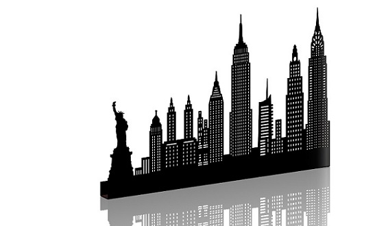 NEW YORK MOYEN NOIR SHADOW-3D