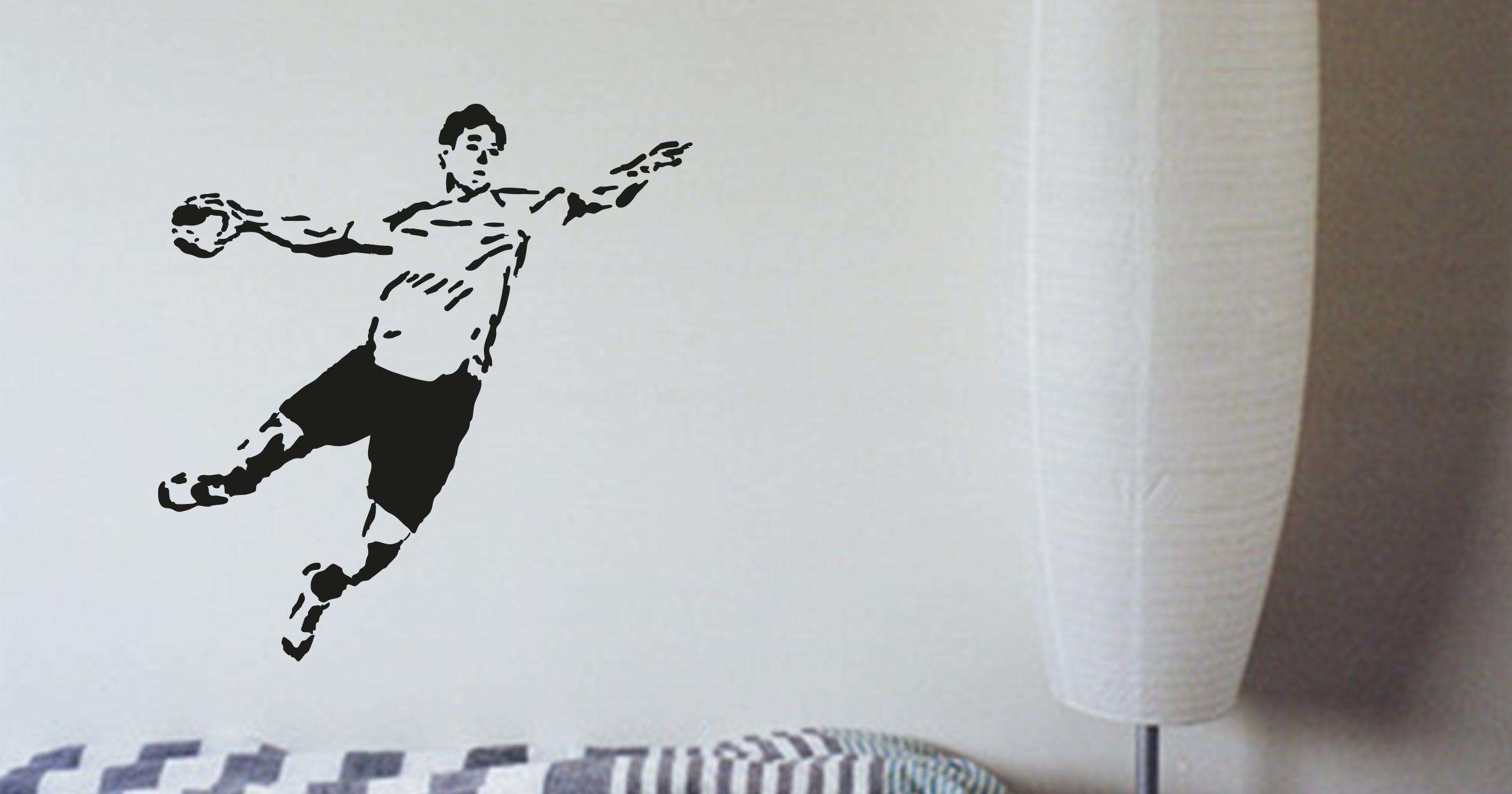 sticker Joueur de handball