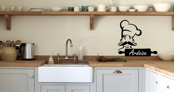 sticker chef cuisinier