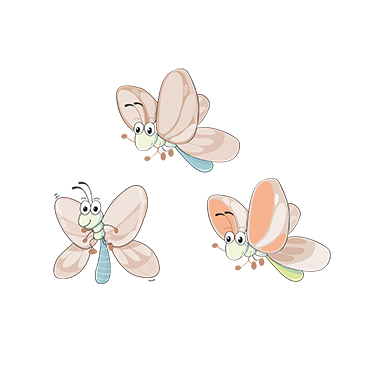sticker mignon petit papillon