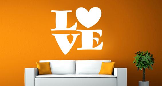 sticker texte love