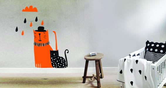 sticker Mister Cats