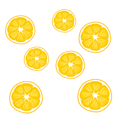 sticker oranges