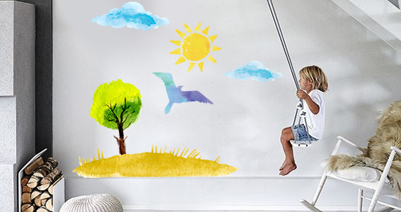 sticker dessin enfantin