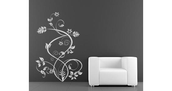 sticker Fleurs caligraphique 2