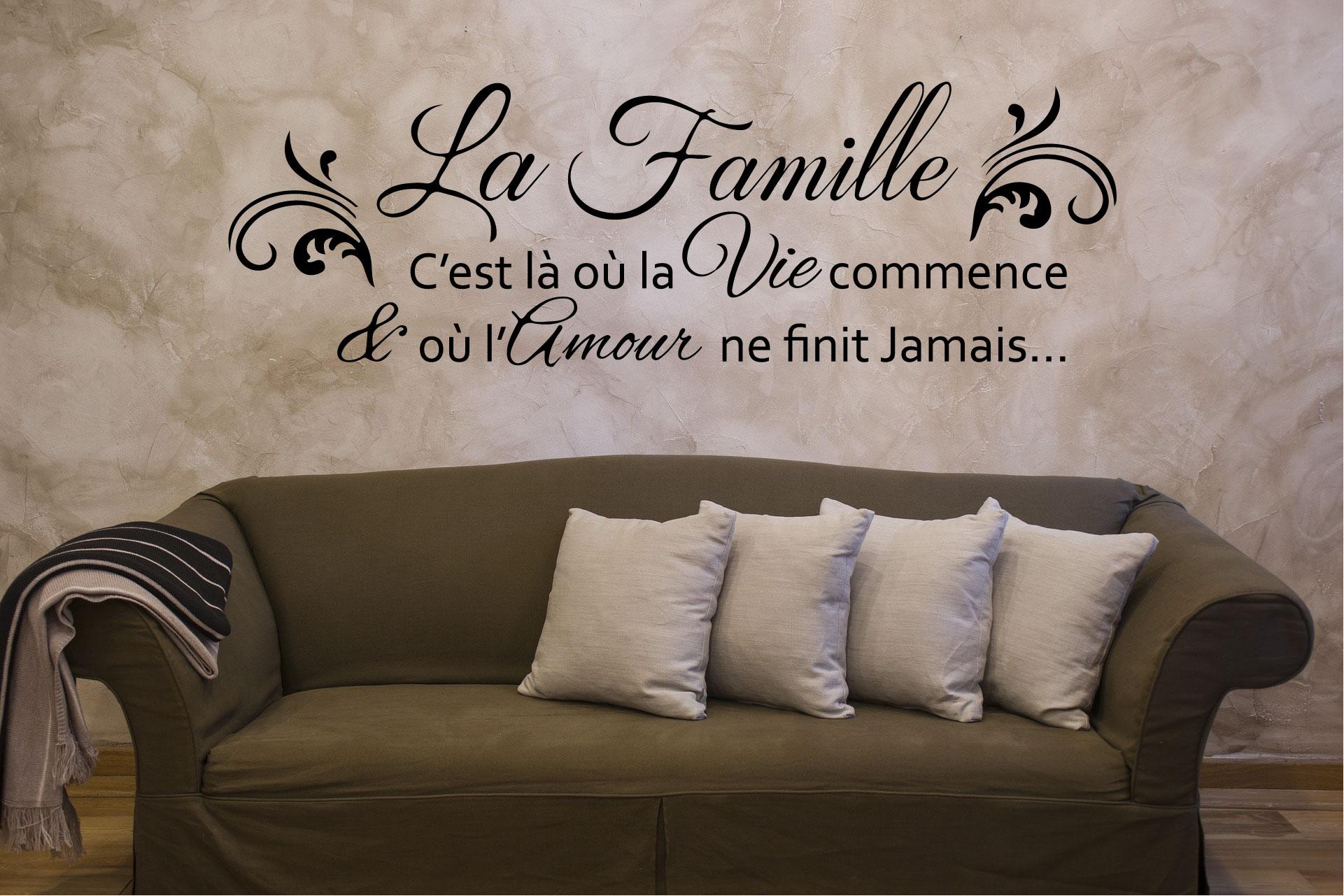 sticker La Famille