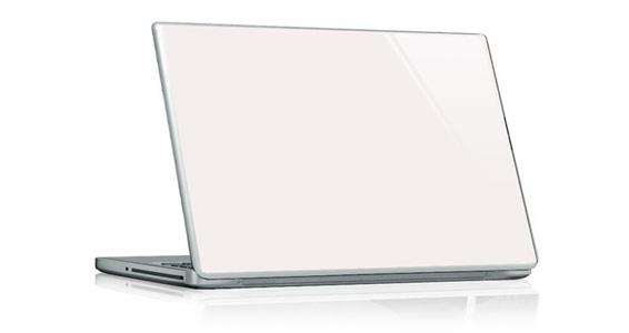 sticker Blanc pour PC portable