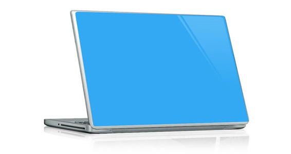 sticker Bleu ciel pour PC portable