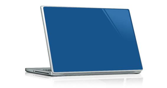 sticker Bleu roi pour PC portable