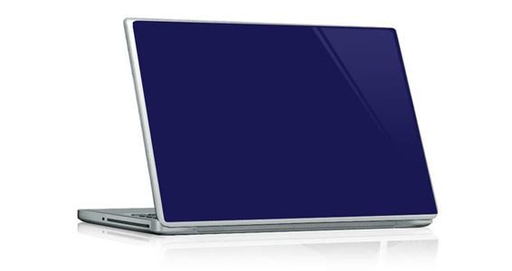 sticker Bleu nuit pour PC portable