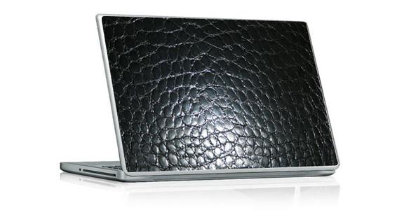 sticker Crocodile Noir pour PC portable