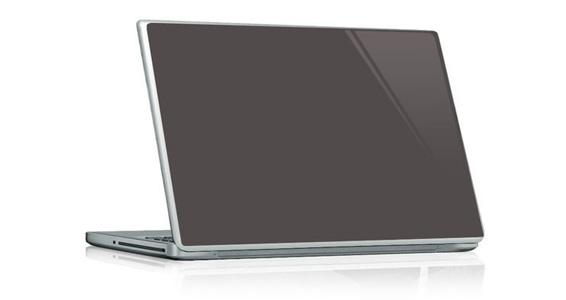 sticker Gris souris pour PC portable