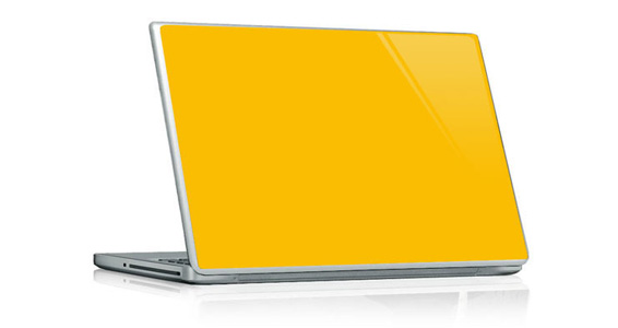 sticker Jaune Tournesol pour PC portable