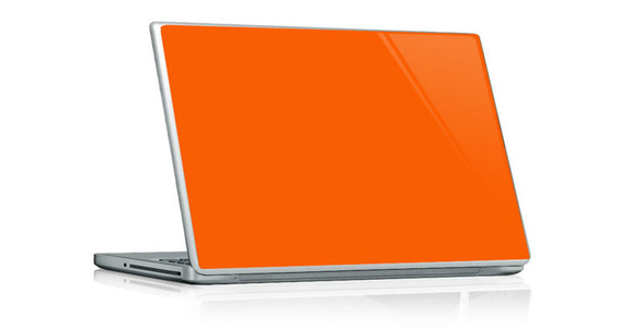 Orange pop pour PC portable