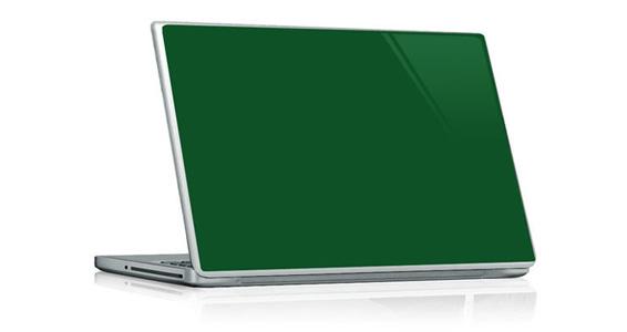 sticker Vert sapin pour PC portable
