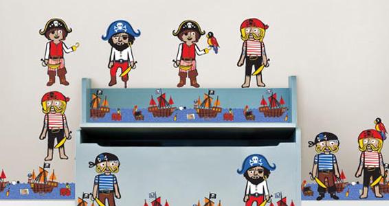Sticker Argh Pirates