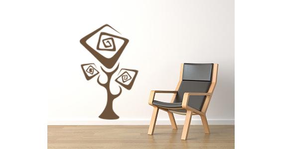 sticker arbre stylisé