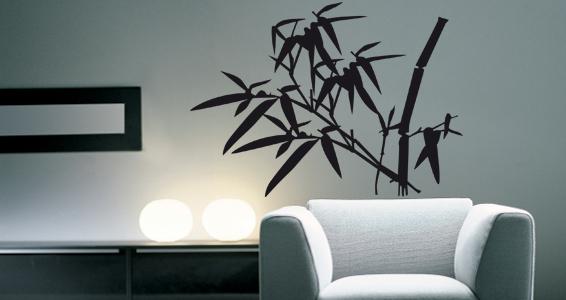 sticker Bambous