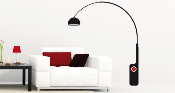 sticker Grande lampe