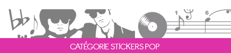 Stickers Muraux Pop