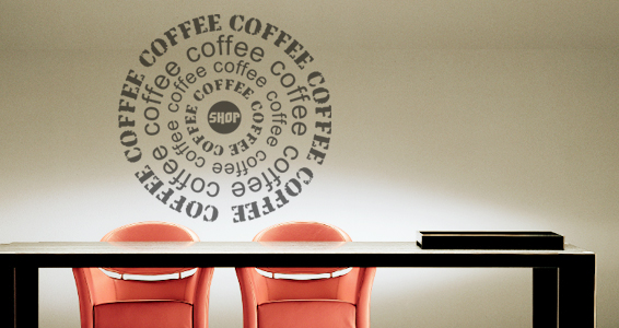 sticker Coffee Shop