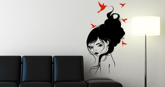 Femme colibri pour 45€