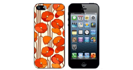 sticker coquelicot Iphone5