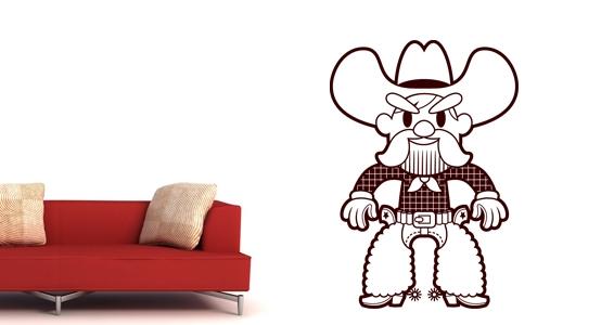 sticker Cow boy 2