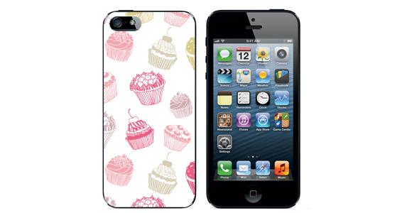sticker cupcake Iphone5