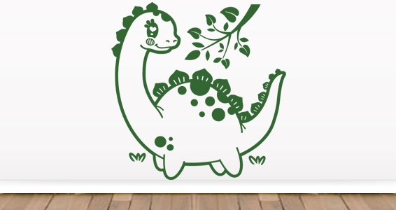 sticker Dinosaure