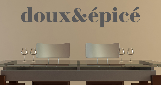 sticker Doux Epicé