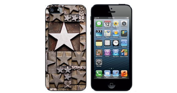 sticker Etoile metal Iphone5
