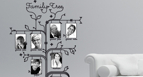 sticker Arbre de famille