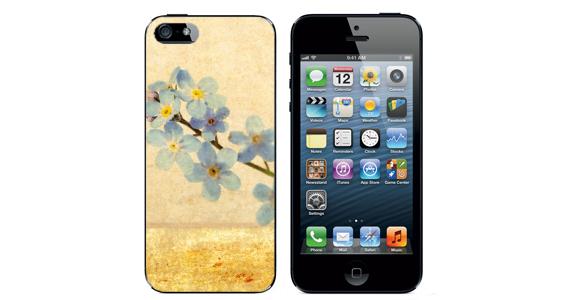 sticker Fleur vintage Iphone5