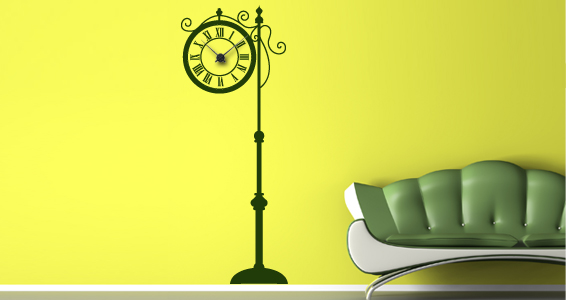 stickers horloges. Black Bedroom Furniture Sets. Home Design Ideas