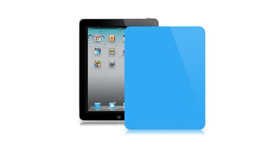 sticker Bleu ciel pour Ipad1