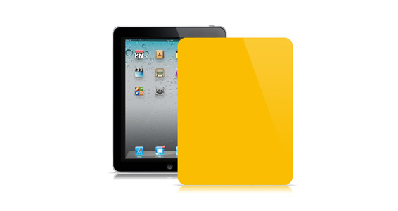 sticker Jaune tournesol pour Ipad1