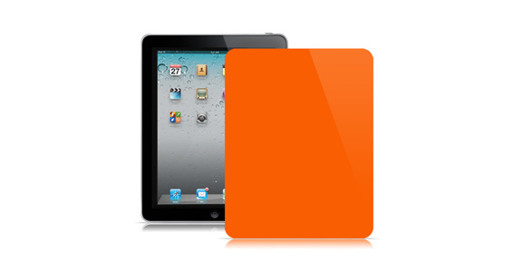 sticker Orange pop pour Ipad1