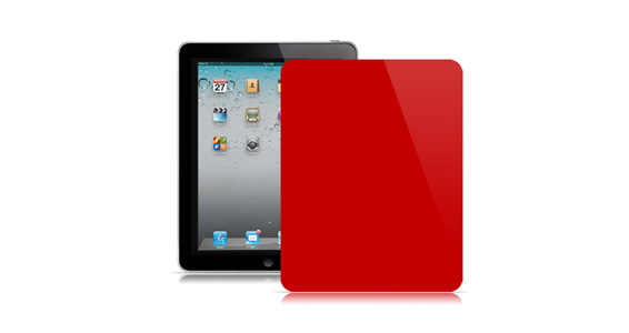 sticker Rouge groseille pour Ipad1