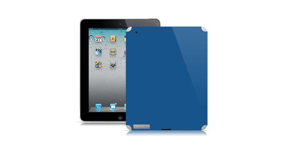 sticker Bleu roi pour Ipad2