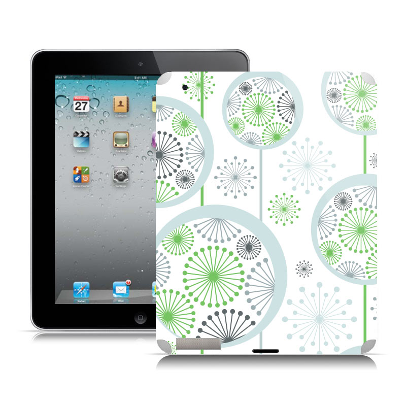 sticker Flocons pour Ipad2