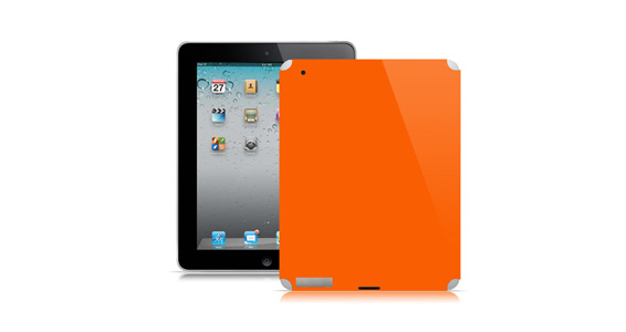 sticker Orange pop pour Ipad2
