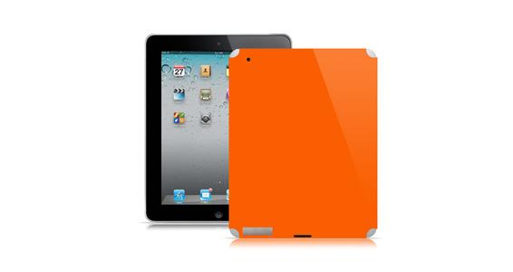 sticker Orange pop pour Ipad2é