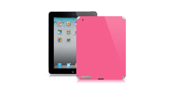 sticker Rose bonbon pour Ipad2
